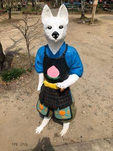 桃太郎神社イケメン犬