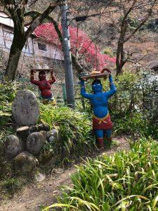 桃太郎神社鬼のおもてなし